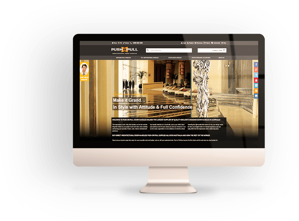 Desktop Ready Responsive Web Design Sydney