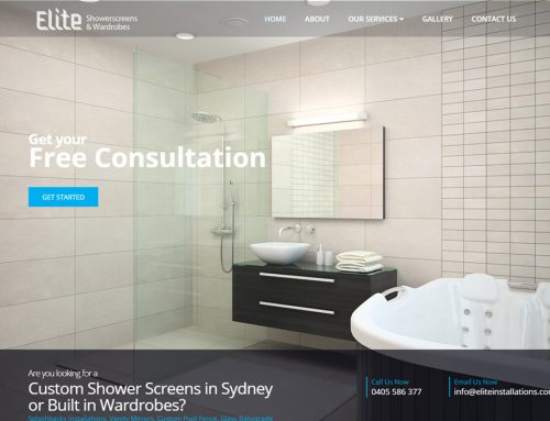 Elite Installations Shower Screens & Wardrobes